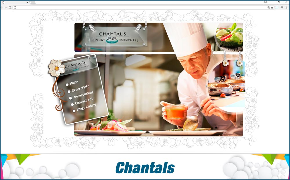 Promotionail Mini Site Chantals