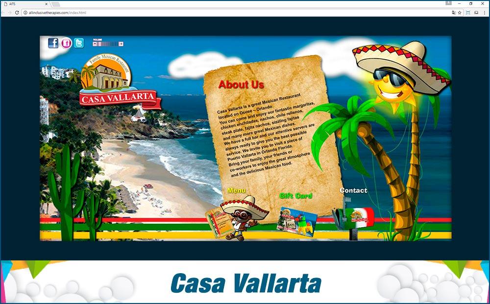 Promotional Sites Casa Vallarta