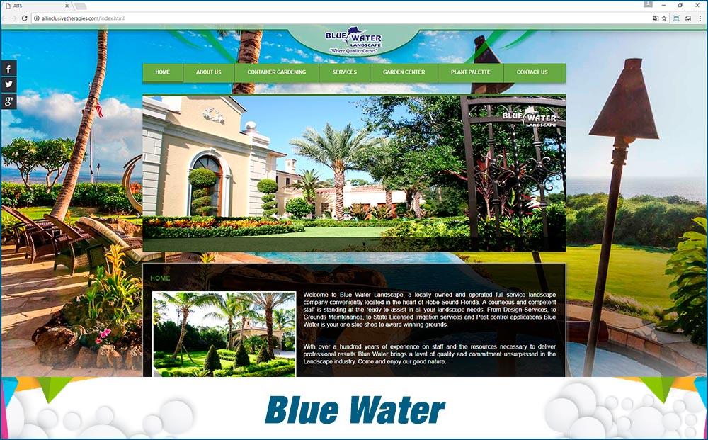 Web BLUE WATER