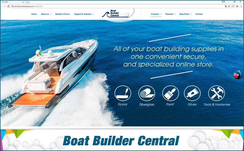 Web Boat Builder Central
