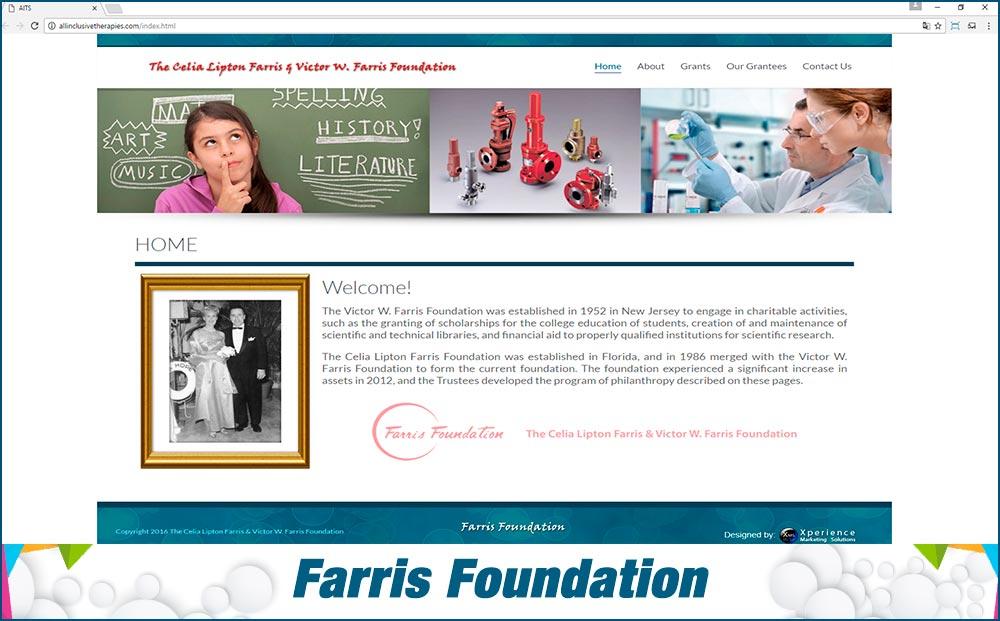 Web Farris Foundation