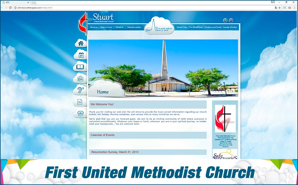 Web First United Methodist Church