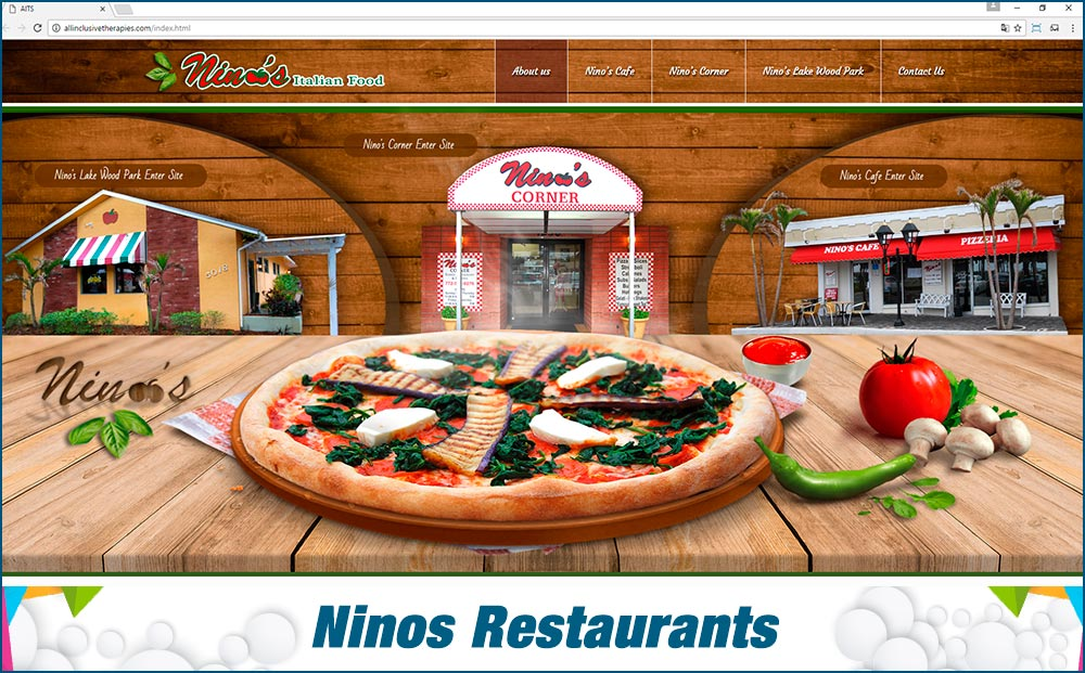 Web Ninos Restaurants