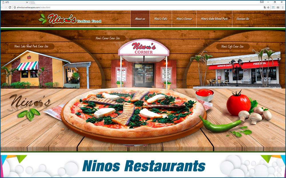 Web Ninos Restaurants