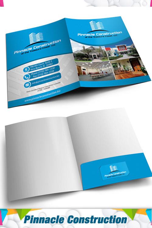 Presentation folder  Pinnacle Construction