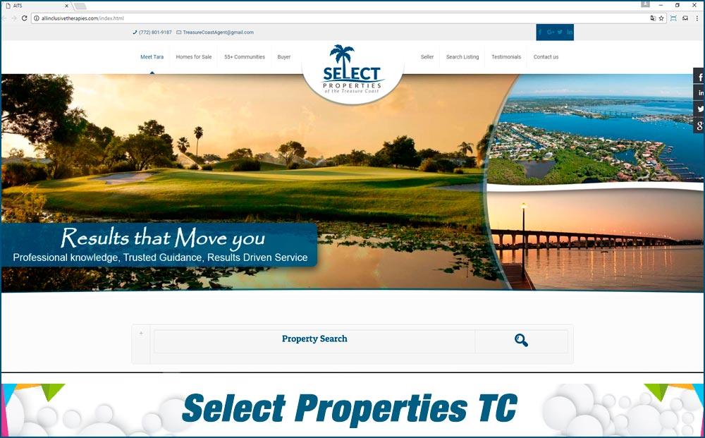 Web Select Properties