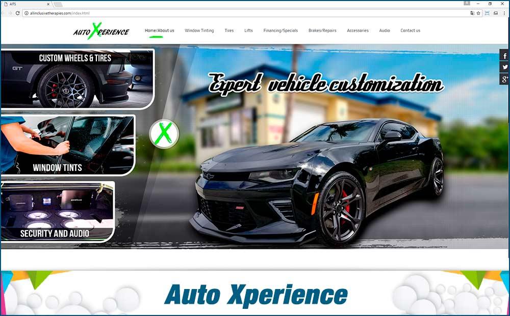 web auto Xperience