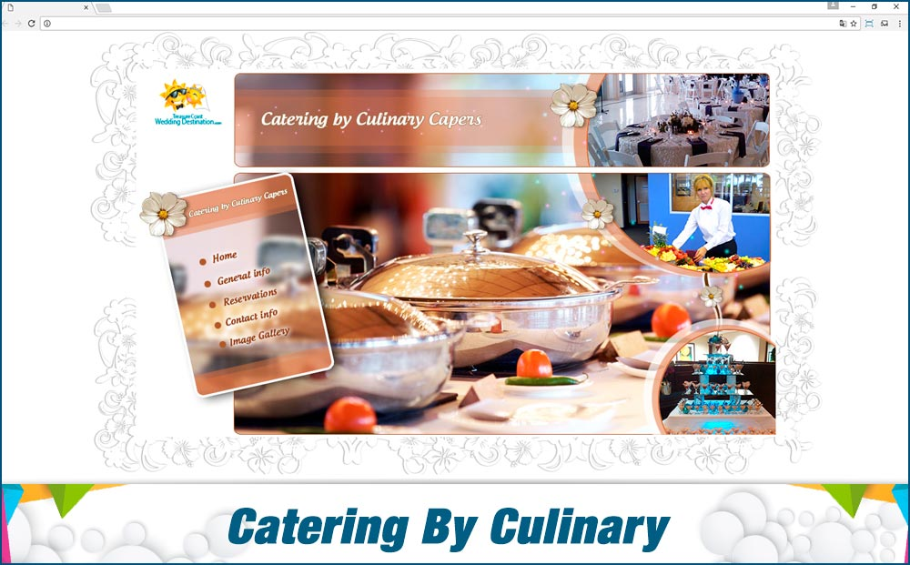 Promotionail Mini Site Catering-By-Culinary-Capers