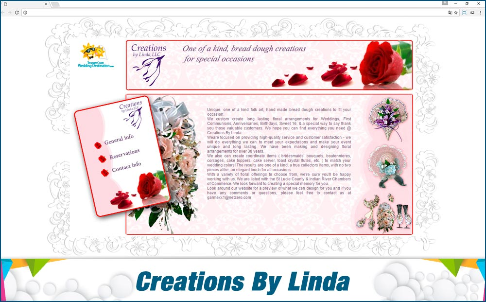 Promotionail Mini Site Creations-By-Linda