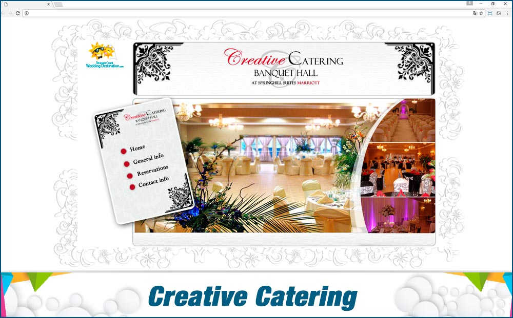 Promotionail Mini Site Creative-Catering