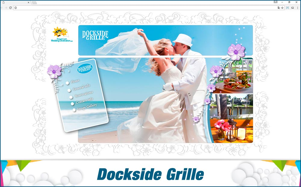 Promotionail Mini Site Dockside-Grille