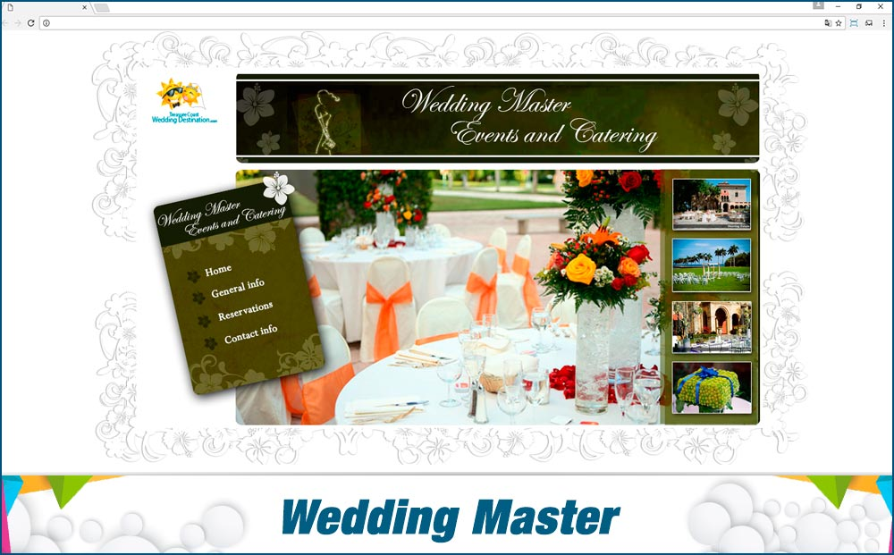 Promotionail Mini-Site Wedding-Master
