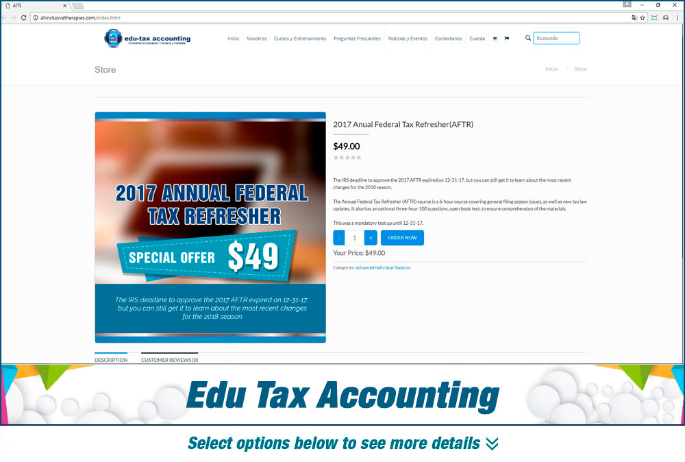 eCommerce Edu Tax