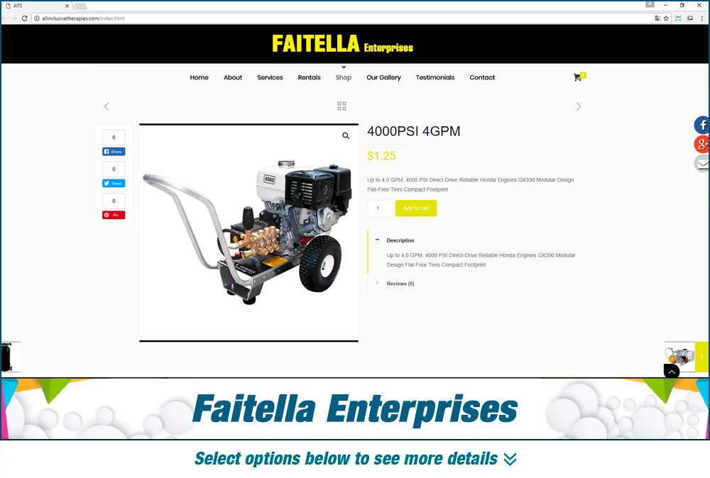 eCommerce faitella enterprises