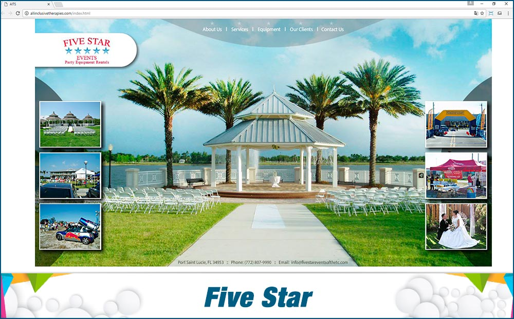 Promotional Sites Five Star