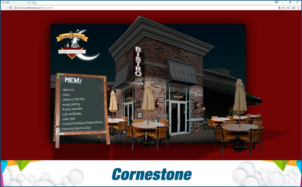 Promotional Sites Cornestone