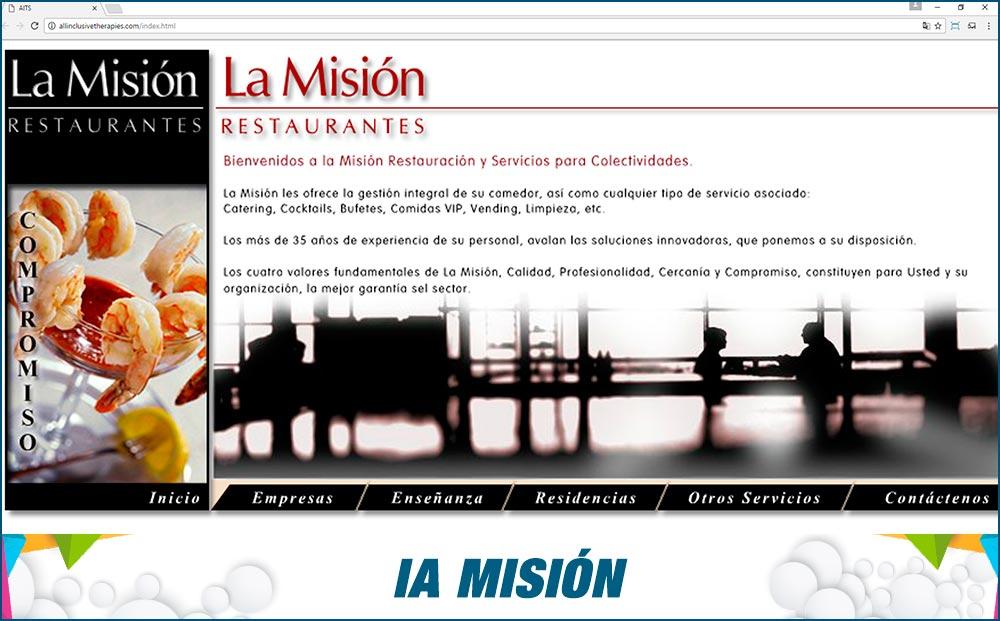 Promotional Sites La Mision