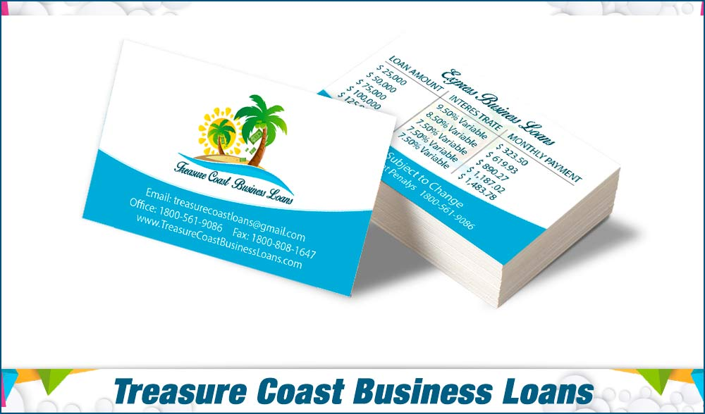 stationary Treasure Coast Business Loans