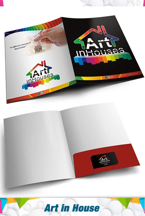 Presentation folder  Art in House