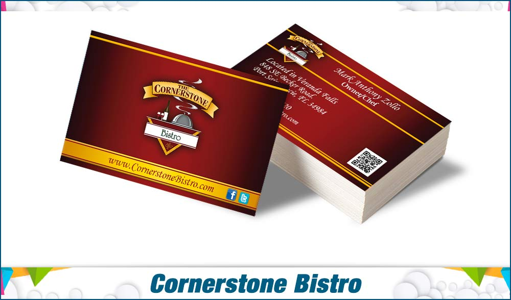 stationary Cornerstone Bistro