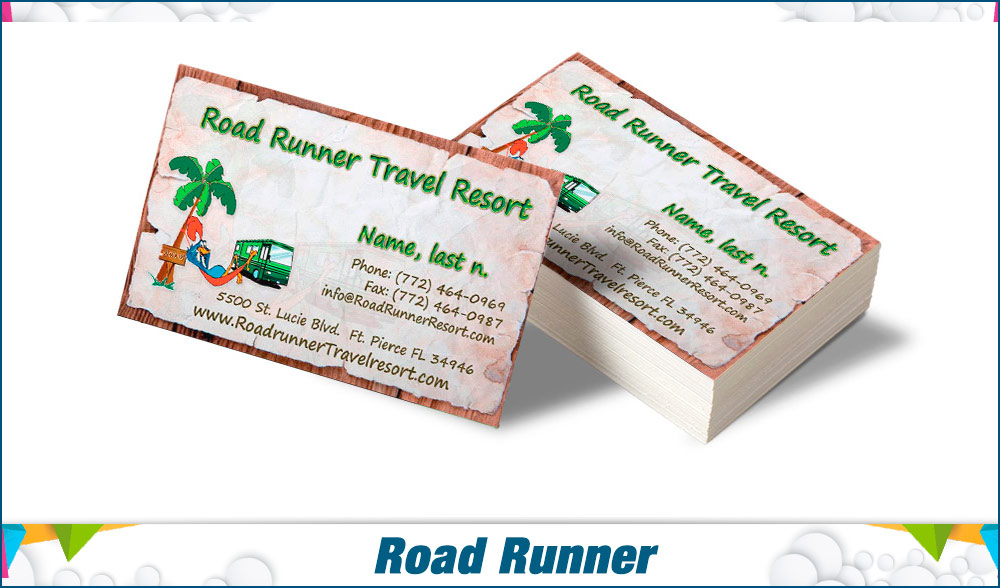 stationary Road runner
