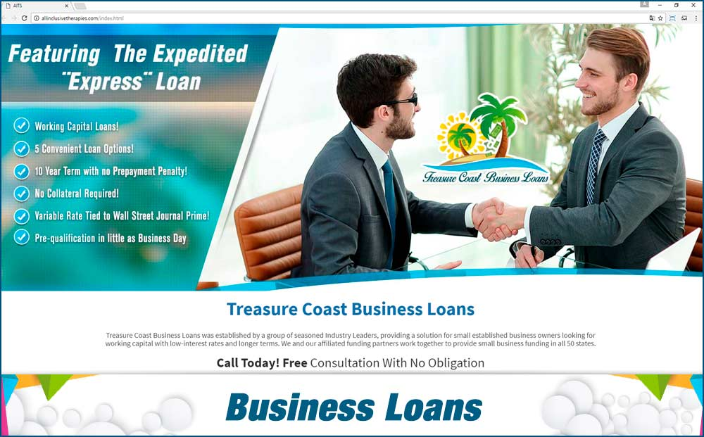 Web business-Loans