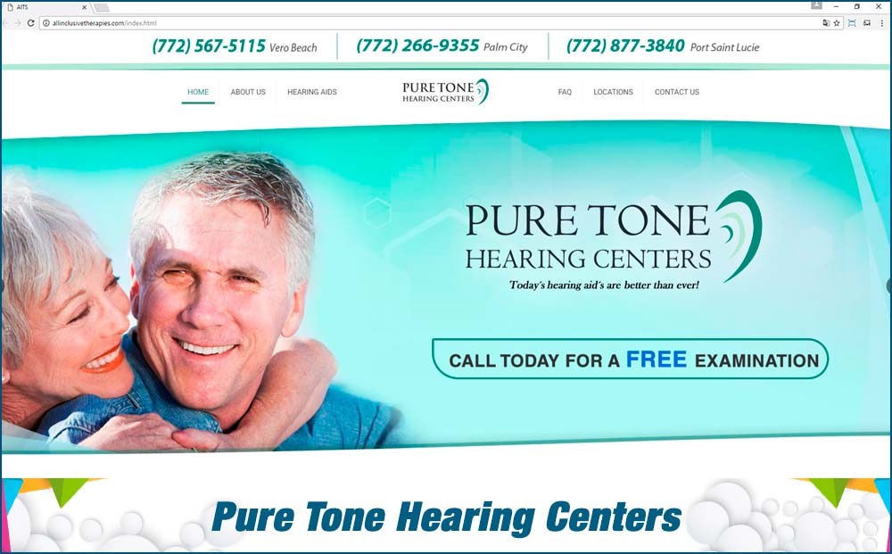 web Pure-Tone-Hearing-Centers