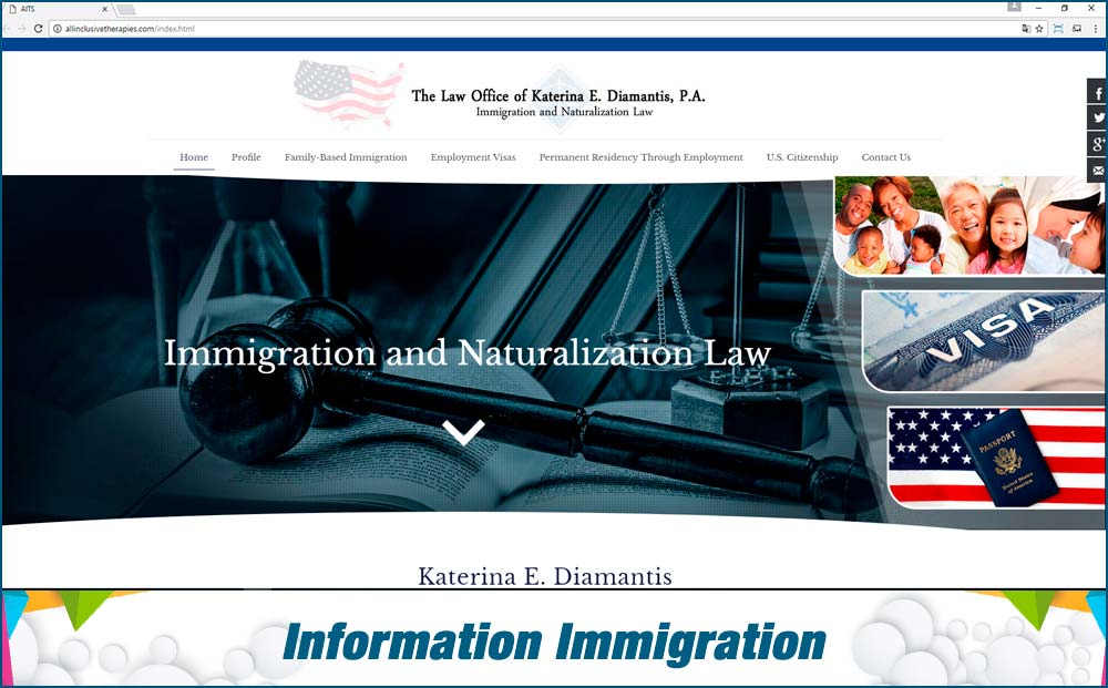 web information-immigration