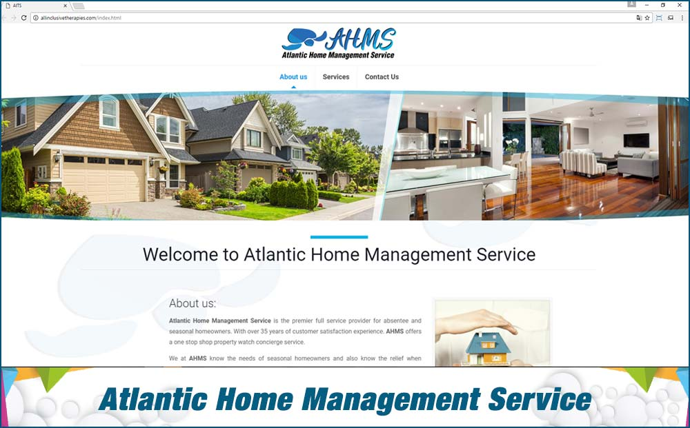 Web Atlantic Home Management Service
