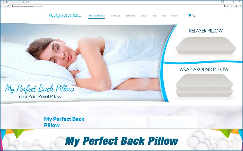 My Perfect Back Pillow