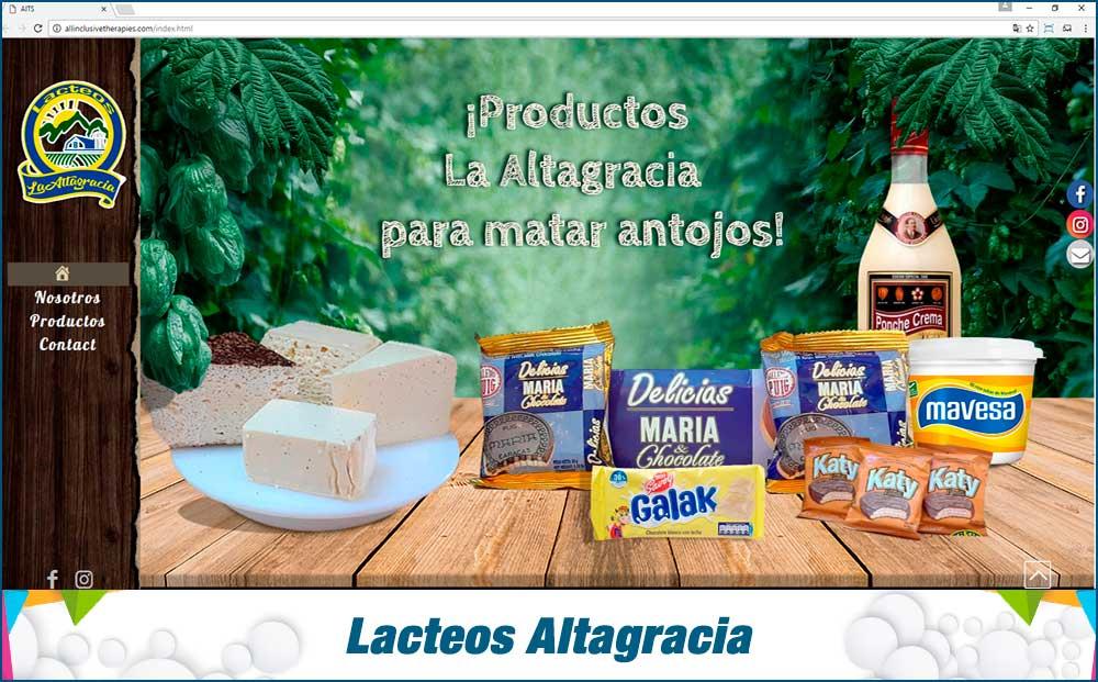 lacteos Altagracia
