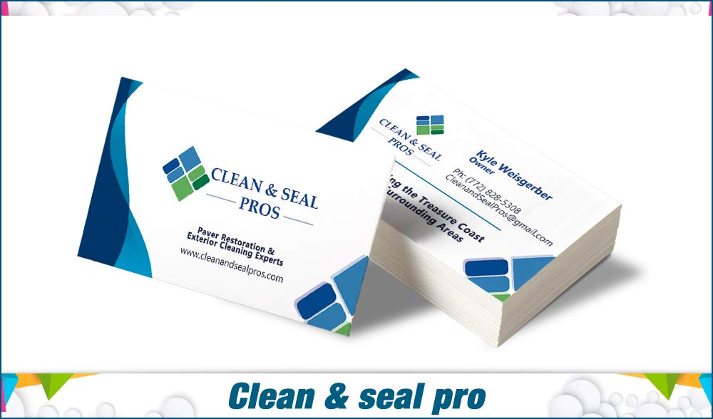 Clean & seal pro bussinescard