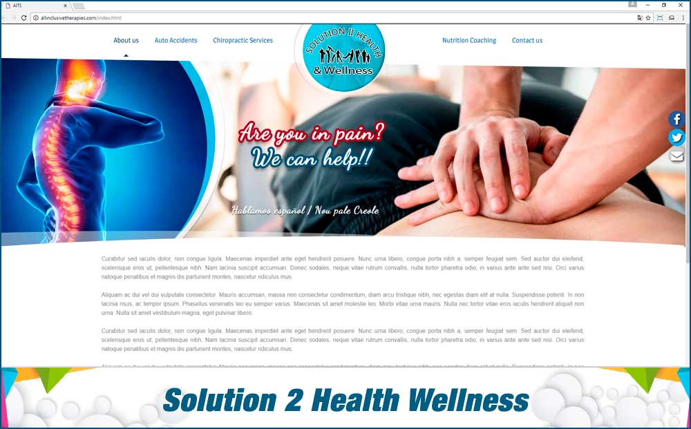 Solution 2 health wellness