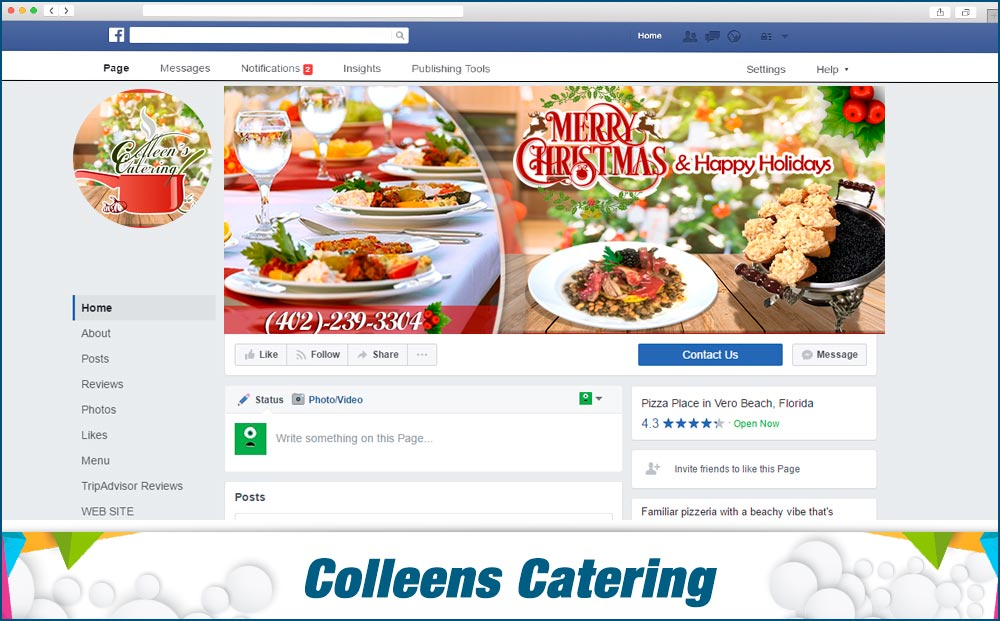 Colleens-Catering Display Covers