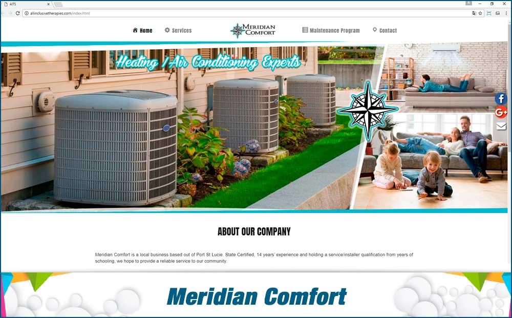 Meridian Confort web