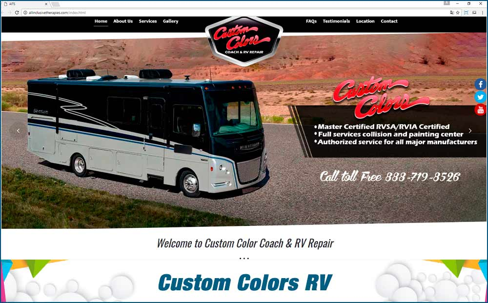 Custom Colors RV
