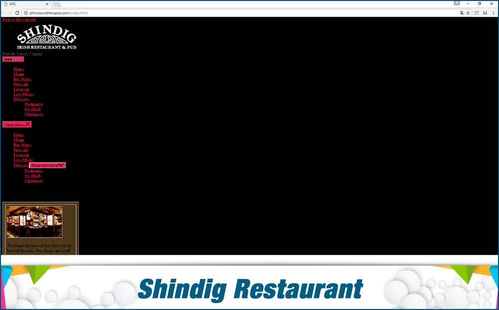 shindig-before